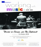Working with Music+ 2018/2020 - Tirocini in Europa per neo-diplomati